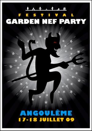 Garden Nef Party 2009 - 17 et 18 Juillet 2009 - Angoulême