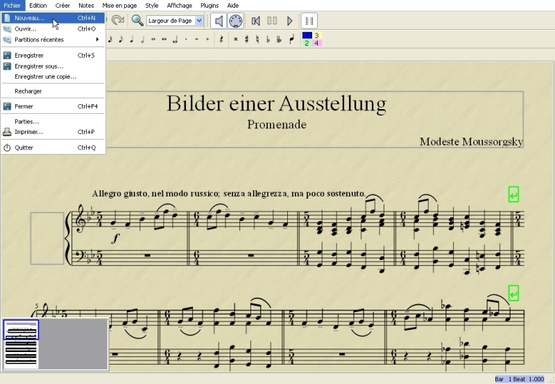 PARTITION MUSESCORE