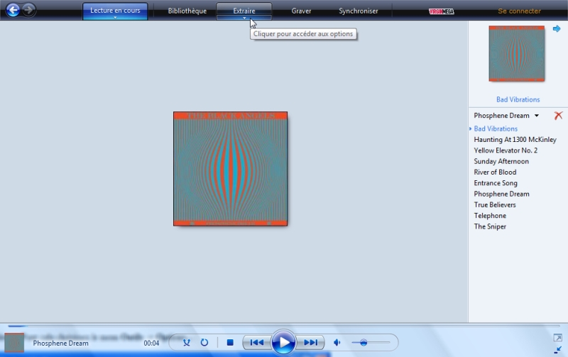 Windows Media Player - Interface