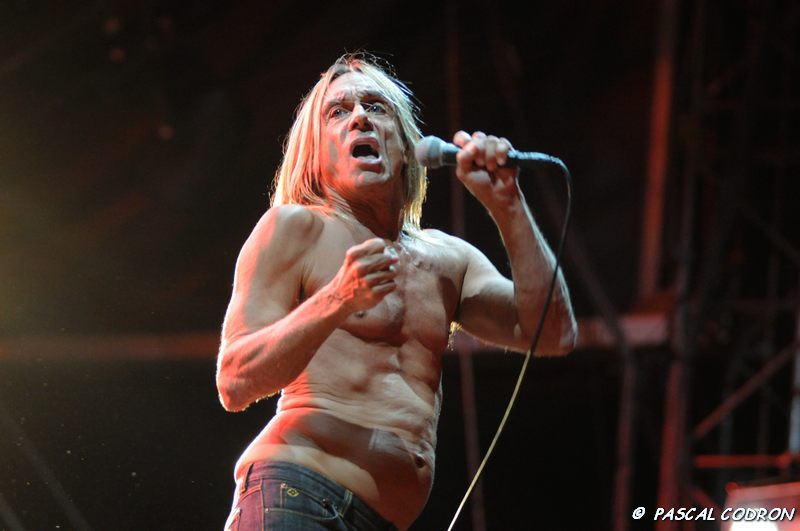 Iggy and The Stooges à la Garden Nef 2008