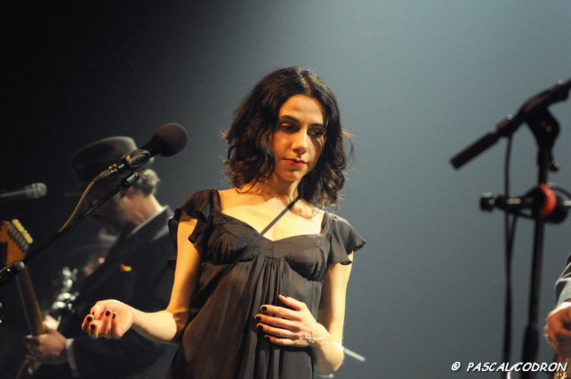 PJ Harvey et John Parish au Bataclan